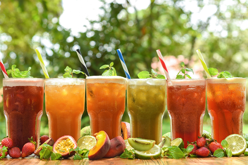 REFRESHING ICED TEAS