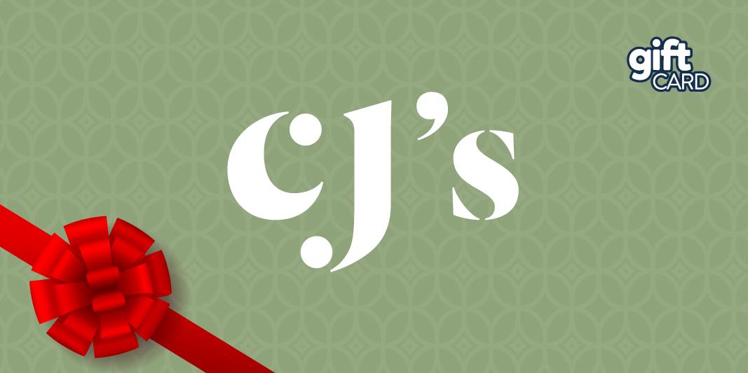 CJ'S GIFT CARD