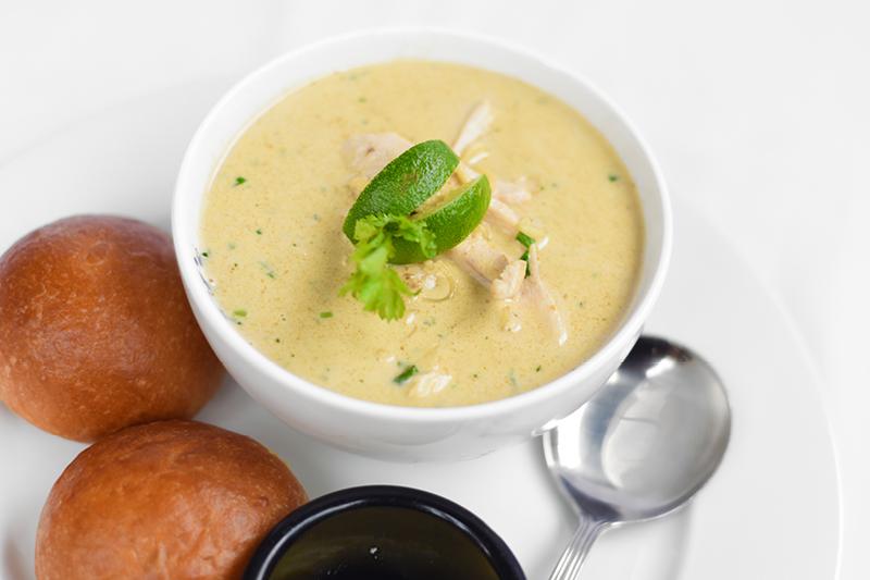 THAI CHICKEN & NOODLE SOUP