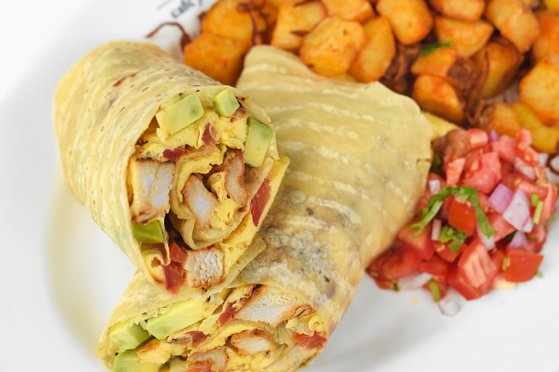 Chicken & egg WRAP COMBO