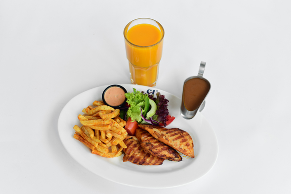 JUICY GRILLED CHICKEN BREAST COMBO
