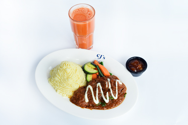 MADRAS BEEF CURRY Combo
